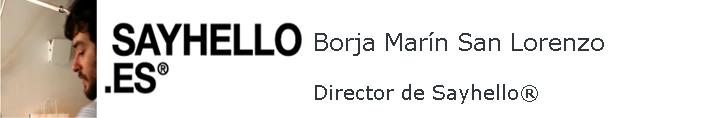 Entrevistamos A Borja Marín, Fundador De Sayhello