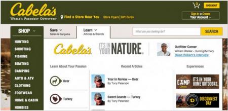 Captura de pantalla Cabela's