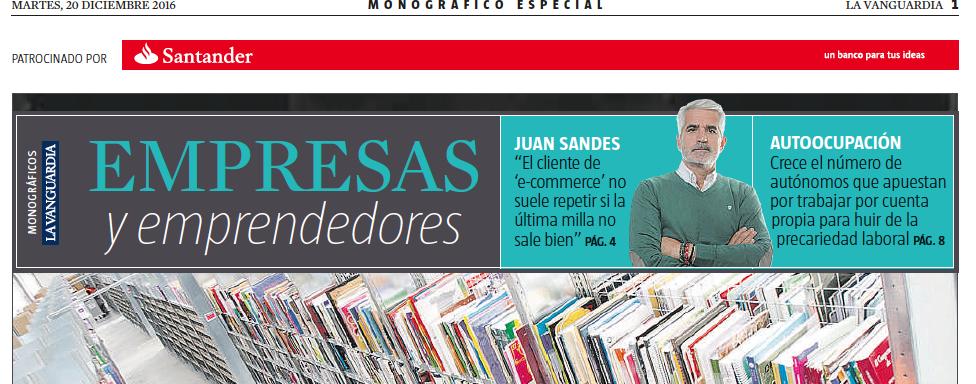 Si La última Milla No Sale Bien, El Cliente No Suele Repetir, Entrevista A Juan Sandes