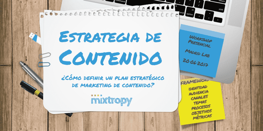 curso mixtropy estrategia de contenidos